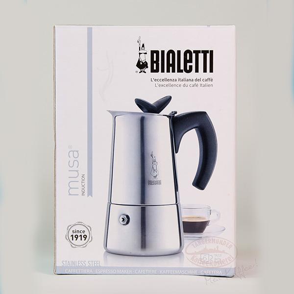 bialetti espressokocher musa restyling induktion 4 tassen tangerm nder kaffeer sterei. Black Bedroom Furniture Sets. Home Design Ideas